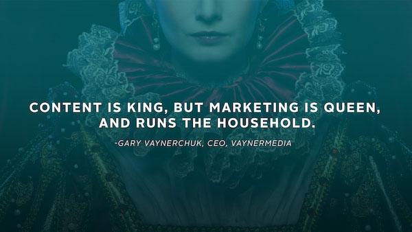 اگر محتوا پادشاه است، بازاریابی هم ملکه است و در کنار هم یک خانواده را تشکیل میدهند