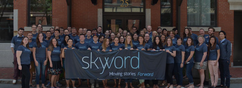 بازاریابی محتوایی شرکت اسکایورد