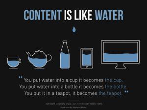 شما محتوا را در قالب رابط گرافیکی به کاربر ارائه میدهید. پس برای جذب نظر مشتری باید دیزاین و طراحی منحصربفردی داشته باشد.
