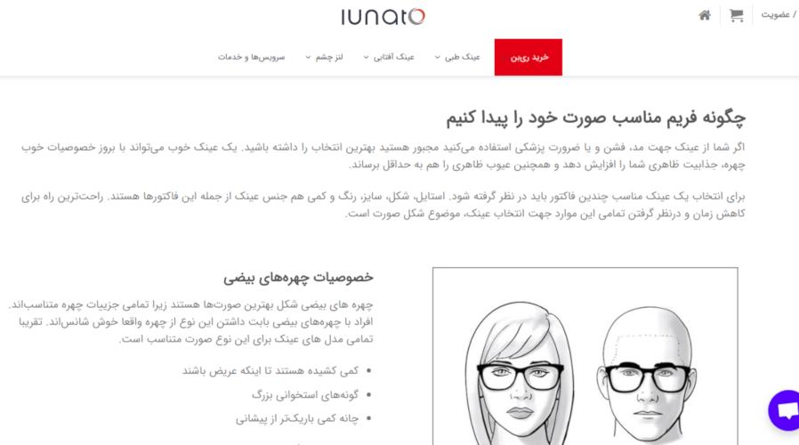 بازاریابی محتوایی استارتاپ های ایرانی : لوناتو